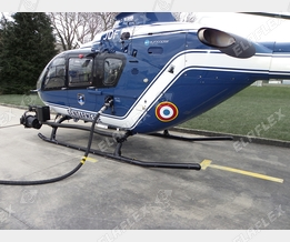 ZVF 50 helicopter refuelling with HD-C hose assembly