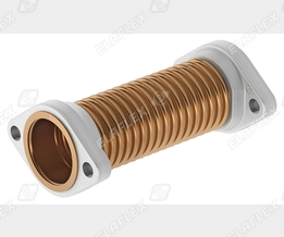 Flexible bronze pipe connector BWO